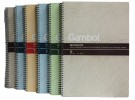 GAMBOL WCN-S6807 B5線圈單行簿(80頁)